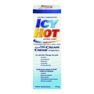 Extra Strength Icy Hot Pain Relieving Cream 85g