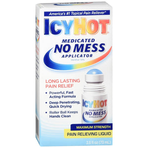 Maximum Strength Icy Hot Medicated No Mess Applicator 73mL