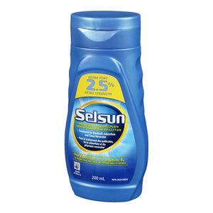Selsun Extra Strength Selenium Sulfide Lotion 200mL