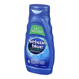 Selsun Blue Anti-Dandruff Shampoo 2in1 300mL
