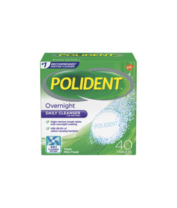 Polident Overnight Daily Cleanser for Dentures