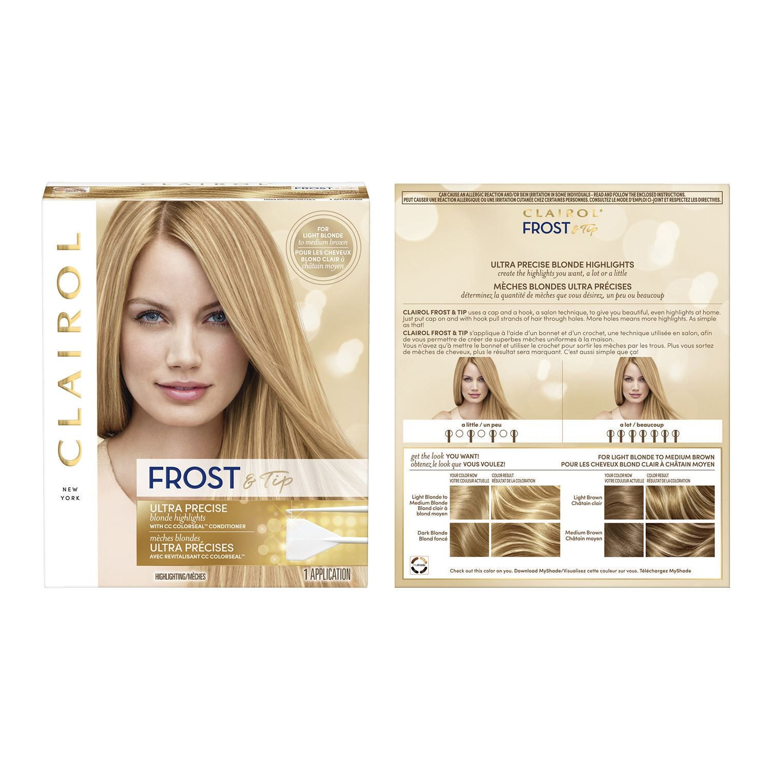 Clairol Frost & Tip Highlighting Kit 1 Application