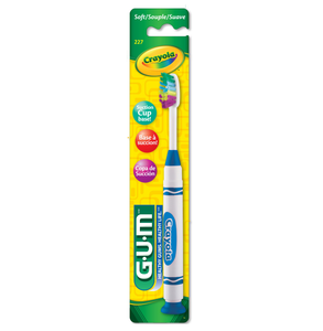 GUM Crayola Kid's Toothbrush