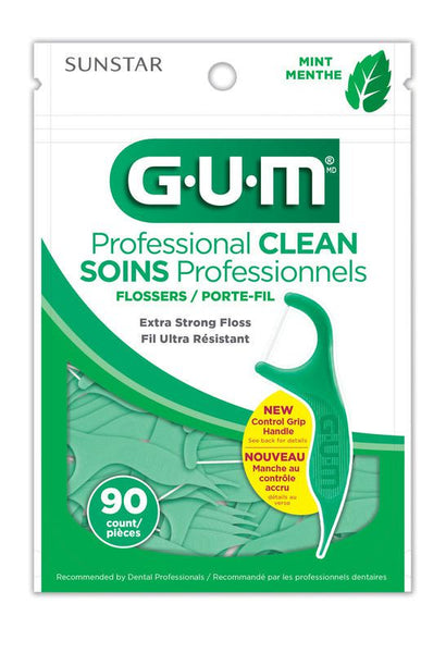 GUM Professional Clean Flossers