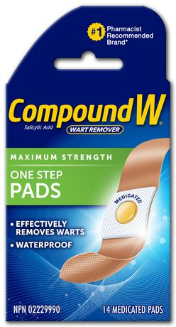 Compound W Maximum Strength One Step Pads 14