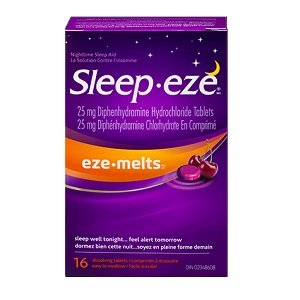 Sleep-eze Eze-Melts 16 Dissolving Tablets