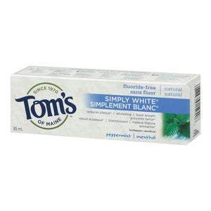 Tom's of Maine Simply White Toothpaste 85mL