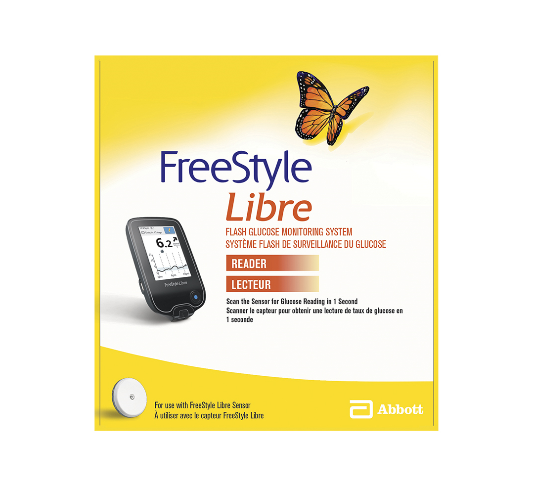 FreeStyle Libre Flash Glucose Monitoring System Reader