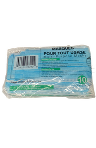 Blue Disposable Mask 10 Pack