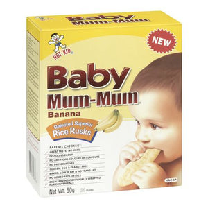 Baby Mum-Mum Banana Rice Rusks