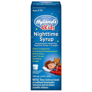 Hyland's 4Kids Nighttime Cold 'n Cough 118mL