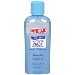 Band-Aid Hurt-Free Antiseptic Wash 177mL