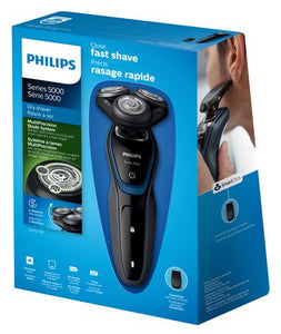 Philips Series 5000 Close Fast Shave Dry Shaver