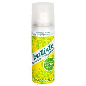 Batiste Instant Hair Refresh Dry Shampoo Tropical Travel Size 50ml