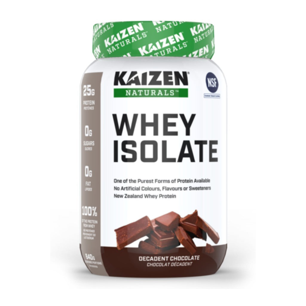 Kaizen Naturals Whey Isolate Decadent Chocolate 840g