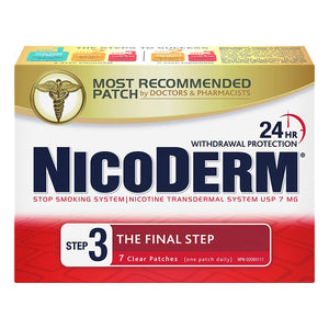NicoDerm Stop Smoking System Step 3