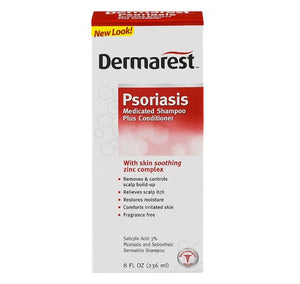 Dermarest Psoriasis Medicated Shampoo Plus Conditioner 236mL