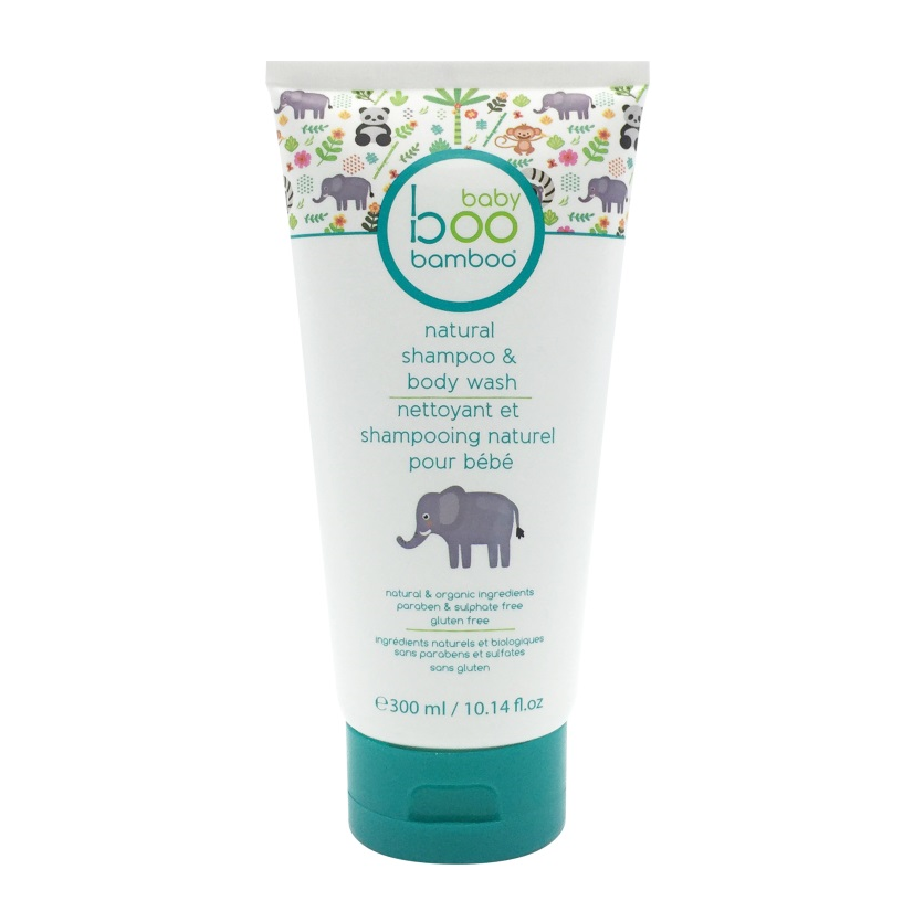 Baby Boo Bamboo Squeaky Clean All Natural Baby Wash & Shampoo 300mL