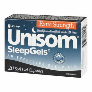 Unisom Extra Strength 20 Soft Gel Capsules