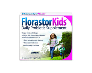 Florastor Kids Daily Probiotic Supplement 20 Sachets