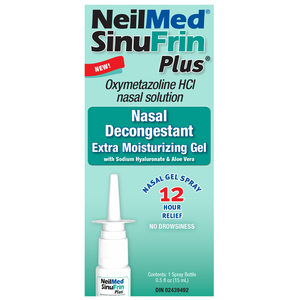 NeilMed SinuFrin Plus Nasal Decongestant Gel 15mL
