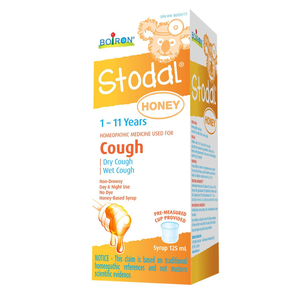 Boiron Stodal 1 - 11 Years Cough Syrup 125mL Honey