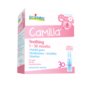 Boiron Camilia Teething 1 - 30 Months 30x1mL Doses