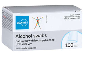 Atoma Alcohol Swabs 100