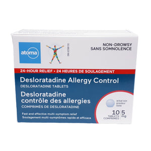 Atoma Desloratadine Allergy Control Tablets