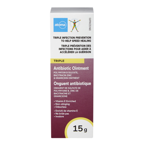 Atoma Triple Antibiotic Ointment 15g