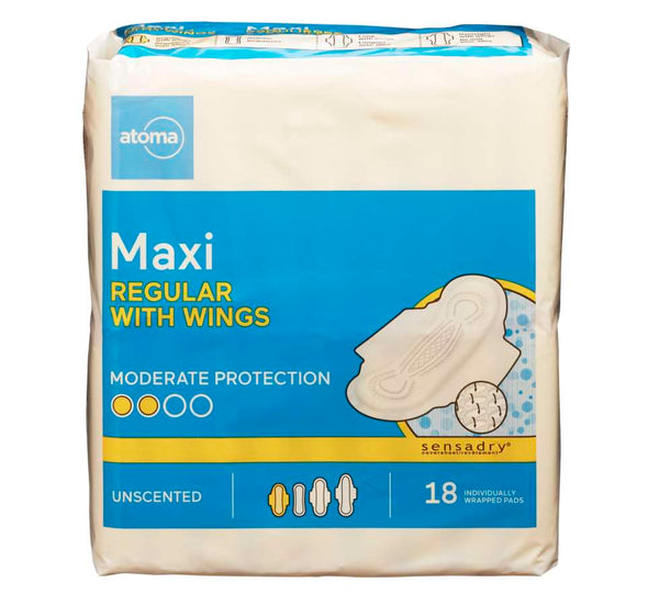 Atoma Maxi Pads with Wings