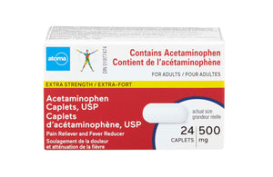 Atoma Extra Strength Acetaminophen Caplets