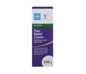 Atoma No Odour Pain Relief Cream 100g