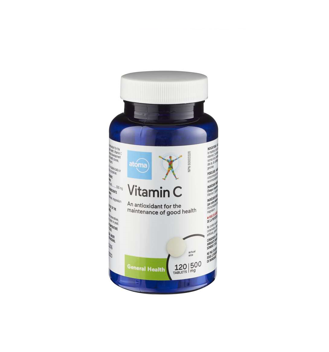 Atoma Vitamin C 500mg 120 Tablets