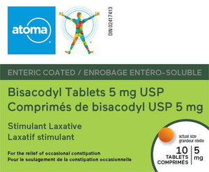 Atoma Bisacodyl Tablets 5mg