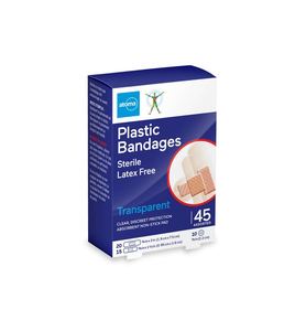 Atoma Plastic Bandages 45 Assorted