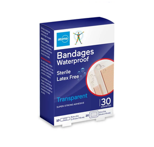 Atoma Bandages Waterproof 20 Assorted
