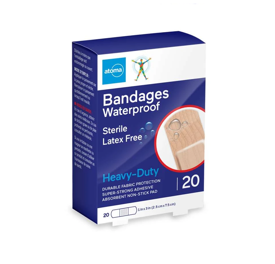 Atoma Bandages Waterproof 20 Heavy Duty