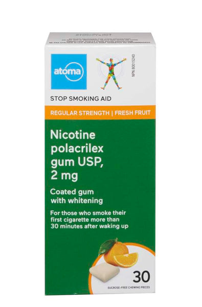 Atoma Nicotine Gum Fresh Fruit 2mg
