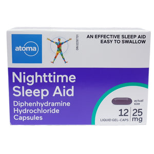 Atoma Nighttime Sleep Aid Liquid Gel-Caps
