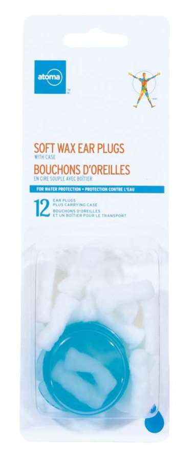 Atoma Soft Wax Ear Plugs with Case