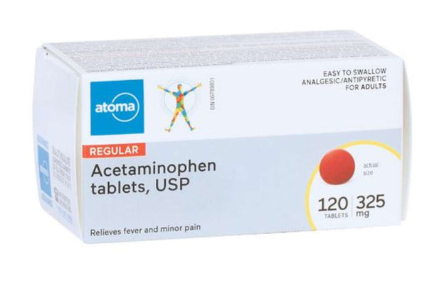 Atoma Regular Strength Acetaminophen Tablets