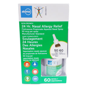 Atoma 24 Hr. Nasal Allergy Relief 60 Sprays