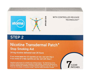 Atoma Nicotine Transdermal Patch Step 2 - 7 Patches