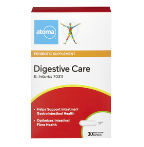 Atoma Probiotic Supplement Digestive Care 30 Vegetarian Capsules
