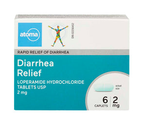 Atoma Diarrhea Relief 2mg