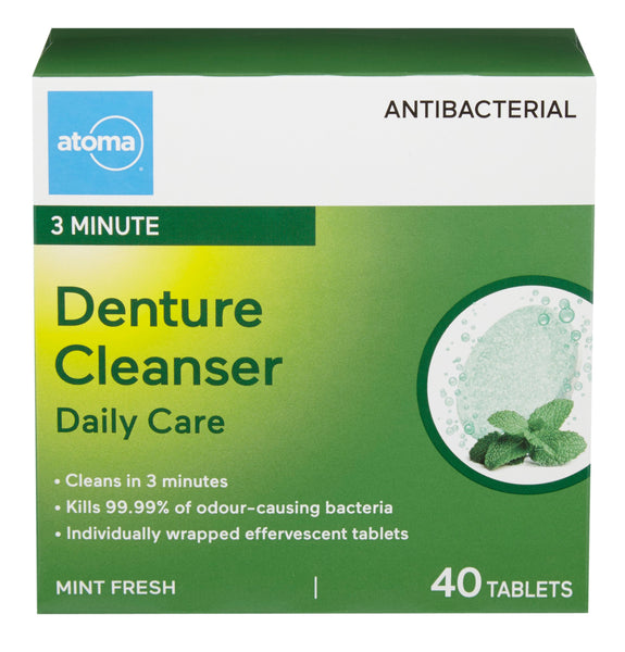 Atoma Daily Care Antibacterial Denture Cleanser