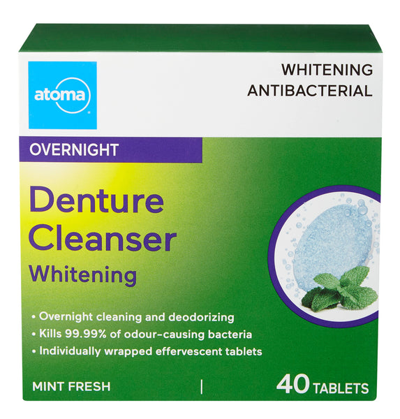 Atoma Overnight Whitening Antibacterial Denture Cleanser
