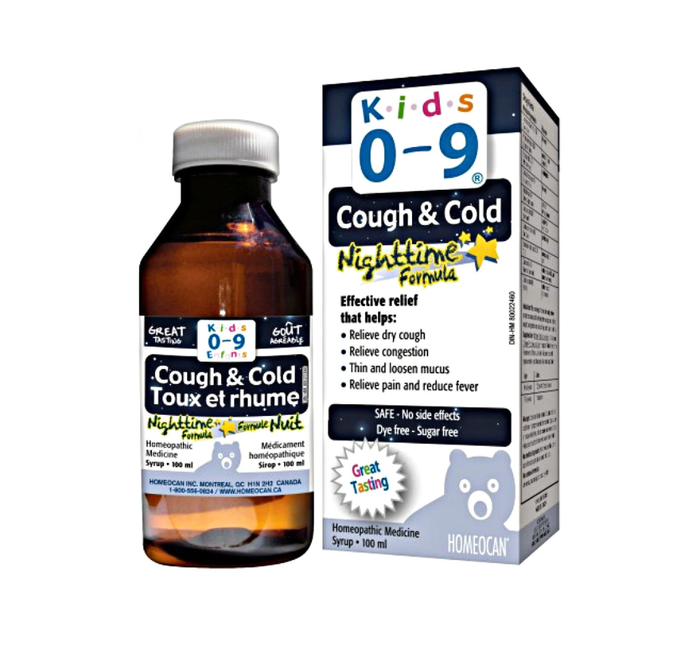 Kids 0-9 Night Syrup Cough & Cold 100mL