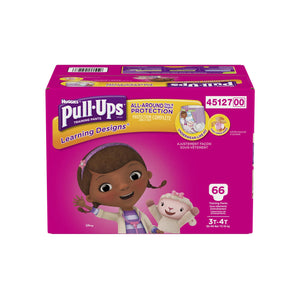 Huggies Pull-Ups Size 3T-4T Giga Pack
